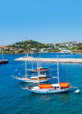 View from Bodrum coast Stock Photography