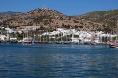 View of Bodrum stock photo