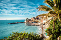 View of Bogliasco Stock Photography