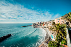 View of Bogliasco Royalty Free Stock Photos