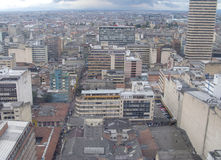 View of Bogota, Colombia. Royalty Free Stock Images