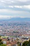 Cityscape View of Bogota, Colombia Stock Photo