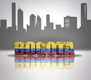 View of Bogota Royalty Free Stock Photography