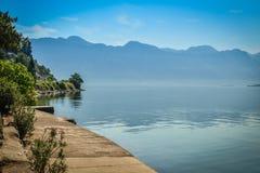 View on Boka Kotorska bay Royalty Free Stock Images