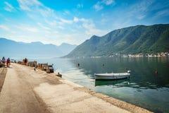 View on  Boka Kotorska bay Royalty Free Stock Photos