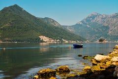 View on Boka Kotorska bay Royalty Free Stock Image