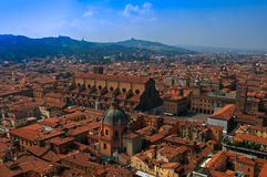 A view of Bologna Royalty Free Stock Images