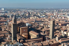 View of Bologna, Italy Royalty Free Stock Image