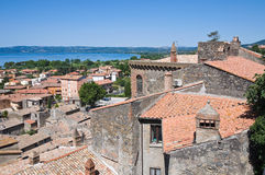 View of Bolsena. Lazio. Italy. Stock Images