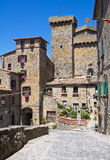 View of Bolsena. Lazio. Italy. Royalty Free Stock Photos