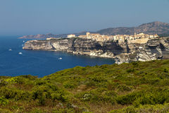 View on Bonifacio, Corsica Stock Photography