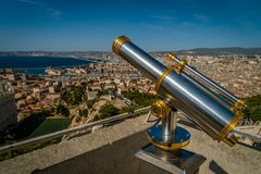 View from Bonne-Mere Royalty Free Stock Images