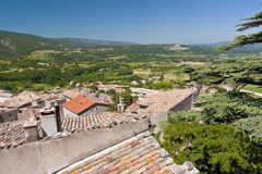 View from Bonnieux Stock Images