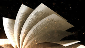 View of book pages Stock Photography
