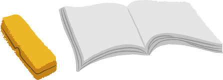 The view of book Stock Image