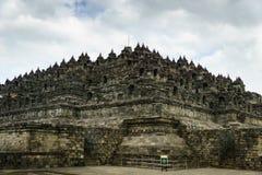 Borobudur temple in Yogyakarta, Java, Indonesia. View of Borobudur temple in Yogyakarta, Java, Indonesia Stock Photography