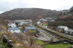 View of boscastle village Stock Photo