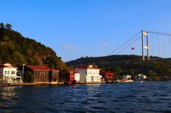 View of Bosphorus, Istanbul Royalty Free Stock Photo