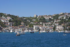 View from Bosporus, Istanbul Royalty Free Stock Image