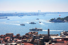 View Of Bosporus Royalty Free Stock Photography