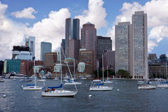 View of Boston Royalty Free Stock Images