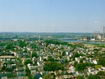View from Bunker Hill Tower Stock Photography