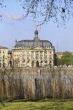 View of Bourse Maritime in Chartrons district Royalty Free Stock Photography