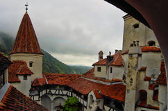 View from Bran Castle Stock Photo