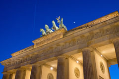 View of the Brandenburger Tor in Berlin Royalty Free Stock Image