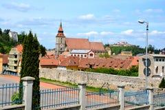 View of Brasov, Transylvania Stock Photo