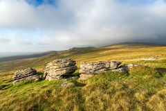 The View From Brat Tor Stock Photography