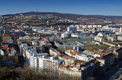 The view on Bratislava Royalty Free Stock Photography