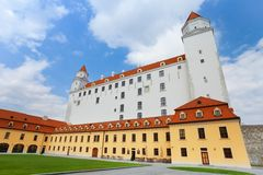 View of Bratislava castle Stock Photos