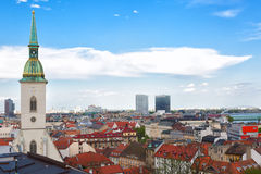 View of Bratislava Royalty Free Stock Images