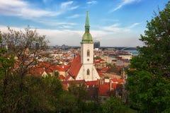 View of Bratislava Royalty Free Stock Photo