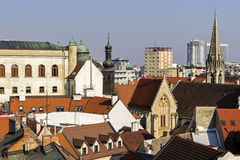View on Bratislava Stock Photo