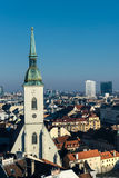 View of Bratislava Royalty Free Stock Photo