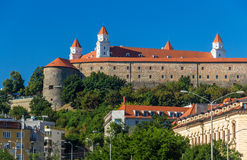 View of Bratistava Castle, Slovakia Royalty Free Stock Photos