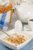 View on breakfast Royalty Free Stock Photography