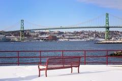 View of the Bridge Stock Photography