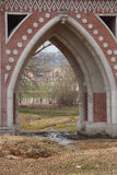 View through bridge Stock Image