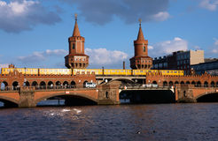 View of a bridge in Berlin Stock Photo