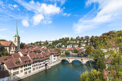 View on the bridge in Berne Royalty Free Stock Photography