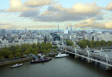 View of  bridge in London Royalty Free Stock Photography