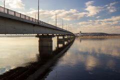 View of the bridge Royalty Free Stock Images