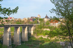 View of the bridge to the Old Town. Royalty Free Stock Photography