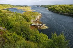Island of Hitra, Norway royalty free stock images