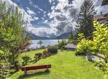 At the lake promenade Royalty Free Stock Photography