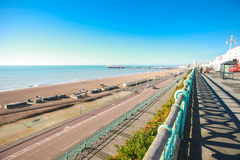 View on Brighton's cost Royalty Free Stock Photography