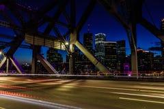 View from Brisbane bridge royalty free stock photos